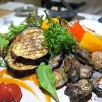 創作割烹 東 - 銘柄地鶏の炭火炙り焼き