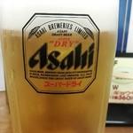 福しん 新井薬師店 - 生ビール¥430