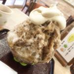 森乃園 - ほうじ茶カキ氷