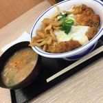 かつや 本八幡店 - ランチカツ丼(^∇^)