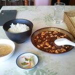 7041060 - 麻婆豆腐のランチ¥840