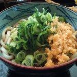 丸亀製麺 - 温ぶっかけ並 280円