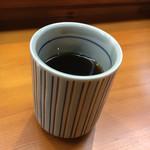 てんぷら 味覚 - 冷たいお茶