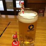 ダイワ食堂 - ビール♪