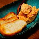 立ち呑み ジャックとマチルダ - 銀鮭スモークのパテ