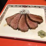 上野藪そば - 鴨ワイン煮(1234円)