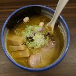 麺や 玄鳥 - あっさり煮干中華そば塩