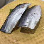 魚べい - こはだ(100円+税)2017年7月