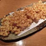 魚金 - トウモロコシのかき揚げ780円