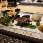 宮崎尾崎牛 肉割烹 吟 - ☆前菜盛り合わせ(*^^)v☆