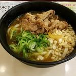 松屋 - 冷やし肉カレーうどん450円