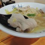 白菜タンメン楽観 - タンメンの肉