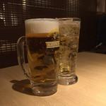 和牛焼肉じろうや 介 wagyu&sake - 生ビール、ハイボール