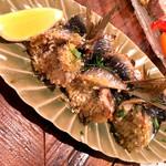 Trattoria okei - イワシの包み揚げ