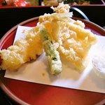7042907 - 松花堂ランチ「天ぷら」