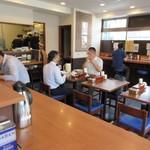 中華そば 七麺鳥 - 店内