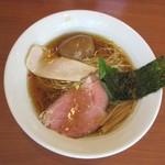 中華そば 七麺鳥 - 味玉醤油ラーメン