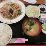 一膳屋 五丈原 - 料理写真:・「レバニラ定食(¥750)」