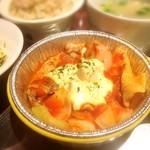 神戸六甲道・ぎゅんた - 鶏もも肉のトマトチーズ焼きランチ