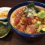 海街丼 - 海宝丼【並】