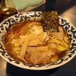 一世 - ワンタン麺(醤油)