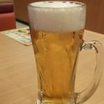 かっぱ寿司 - 生ビール