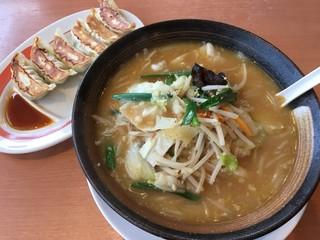 幸楽苑 郡山久留米店 - 新味噌野菜ラーメン 637円