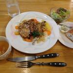 エルヴの森 - 料理写真:御瀧ランチ 鶏肉&パン