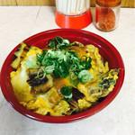 駅ナカ食堂 - 料理写真:アナゴ玉子とじ丼