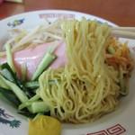 永来軒 - 通常の麺よりもやや加水率髙いツルシコ麺