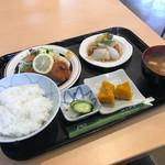 ロッシュ - 料理写真:ヒレカツ&若どりの酢豚