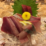 sushikoumiue - 刺身盛り合わせ