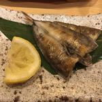 sushikoumiue - メヒカリ塩焼き