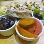 下町ビストロ リカリカ - 本日の前菜盛り合わせ(8種盛り)