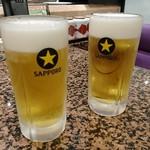 廻転ずし とっぴ~ - ドリンク写真:ビール 518円(税込)