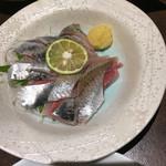 函館海鮮居酒屋 魚まさ - イワシ刺し