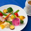ラ・ヴェリータ - 料理写真:400℃スチームしたお野菜のフォンデュは