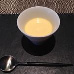 70431052 - 採れたてとうもろこしの冷製スープ