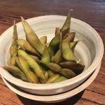 燻製した枝豆