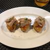 ラ カンパーニュ - 料理写真:自家製ツナとラタトゥイ ユのブルスケッタ