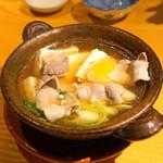 石臼挽き手打蕎楽亭 - 肉豆腐