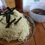 70435102 - 【2017.7.23(日)】江戸つけ麺(大盛・525)650円