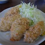 犬若食堂 - 牡蠣フライ
