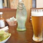カフェレストラン亜詩麻 - ノンアルビール