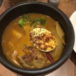 Spice&Sweets KAJU - 鶏と野菜のスープカレー