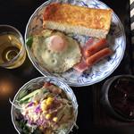 ぱせり - 料理写真:アイスコーヒー+Cセット