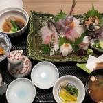 和食レストラン 熱海 碧 - お刺身ご膳