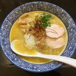晴壱 - 濃厚鶏白湯そば(780円)