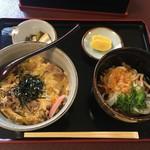 たにむら - 料理写真:他人丼セット
