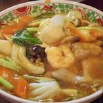 中華風家庭料理 ふーみん - 五目ウマ煮そば